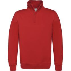 Textiel Heren Fleece B And C ID.004 Rood