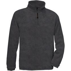 Textiel Heren Fleece B And C Highlander Houtskool
