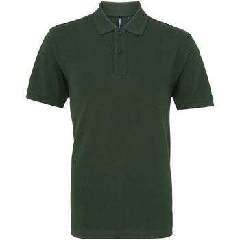 Textiel Heren Polo's korte mouwen Asquith & Fox AQ010 Fles