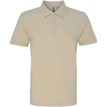 Textiel Heren Polo's korte mouwen Asquith & Fox AQ010 Natuurlijk