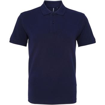 Textiel Heren Polo's korte mouwen Asquith & Fox AQ010 Marine