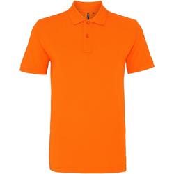 Textiel Heren Polo's korte mouwen Asquith & Fox AQ010 Oranje