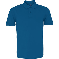 Textiel Heren Polo's korte mouwen Asquith & Fox AQ010 Pauw