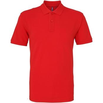Textiel Heren Polo's korte mouwen Asquith & Fox AQ010 Rood