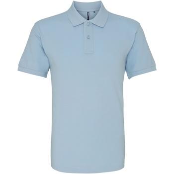 Textiel Heren Polo's korte mouwen Asquith & Fox AQ010 Sky