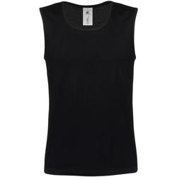 Textiel Heren Mouwloze tops B And C BA110 Zwart