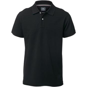 Textiel Heren Polo's korte mouwen Nimbus Yale Zwart