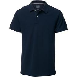 Textiel Heren Polo's korte mouwen Nimbus Yale Marine