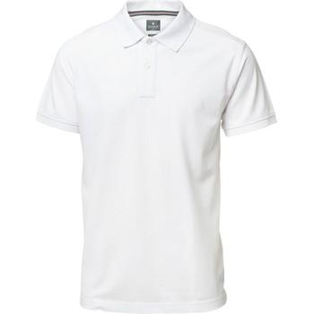 Textiel Heren Polo's korte mouwen Nimbus Yale Wit