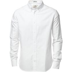 Textiel Heren Overhemden lange mouwen Nimbus Formal Wit