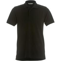 Textiel Heren Polo's korte mouwen Kustom Kit KK408 Zwart