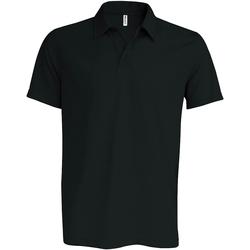 Textiel Heren Polo's korte mouwen Kariban Proact Performance Zwart