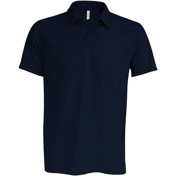 Textiel Heren Polo's korte mouwen Kariban Proact Performance Marine
