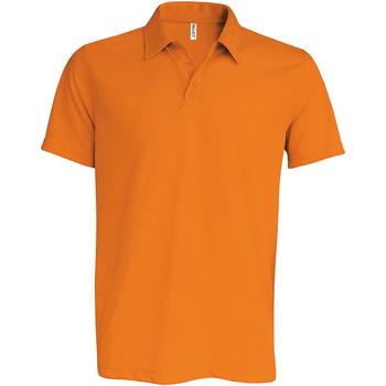Textiel Heren Polo's korte mouwen Kariban Proact Performance Oranje