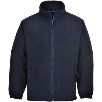 Textiel Heren Fleece Portwest Aran Marine