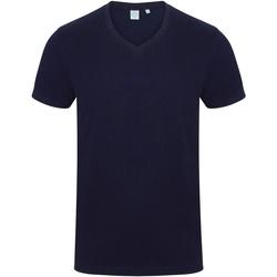 Textiel Heren T-shirts korte mouwen Skinni Fit SF122 Marine
