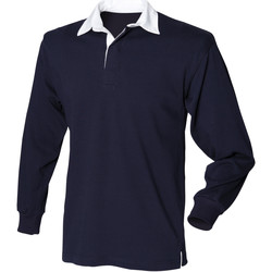 Textiel Heren Polo's lange mouwen Front Row Rugby Marine