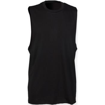 Textiel Heren Mouwloze tops Skinni Fit SF232 Zwart