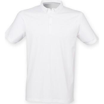 Textiel Heren Polo's korte mouwen Skinni Fit SF440 Wit