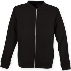 Textiel Heren Wind jackets Skinni Fit Bomber Zwart