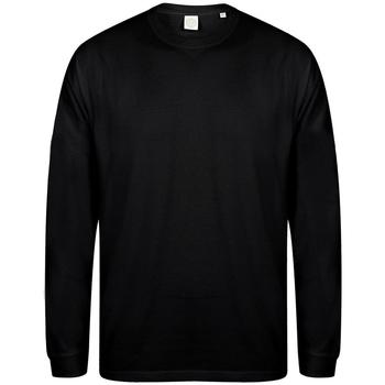Textiel Heren Sweaters / Sweatshirts Skinni Fit Slogan Zwart