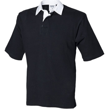 Textiel Heren Polo's korte mouwen Front Row Rugby Zwart