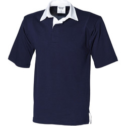 Textiel Heren Polo's korte mouwen Front Row Rugby Marine