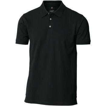Textiel Heren Polo's korte mouwen Nimbus Stretch Zwart