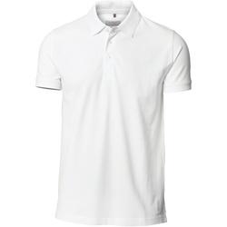 Textiel Heren Polo's korte mouwen Nimbus Stretch Wit
