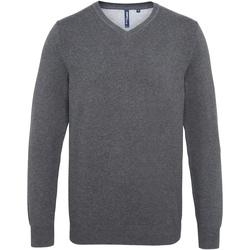 Textiel Heren Truien Asquith & Fox  Houtskool