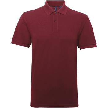 Textiel Heren Polo's korte mouwen Asquith & Fox Performance Bourgondië