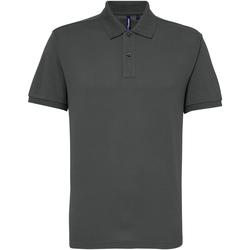 Textiel Heren Polo's korte mouwen Asquith & Fox AQ015 Houtskool