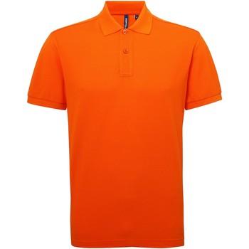 Textiel Heren Polo's korte mouwen Asquith & Fox Performance Oranje