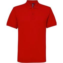 Textiel Heren Polo's korte mouwen Asquith & Fox Performance Rood