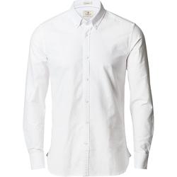 Textiel Heren Overhemden lange mouwen Nimbus Slim Fit Wit