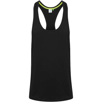 Textiel Heren Mouwloze tops Tombo TL504 Zwart