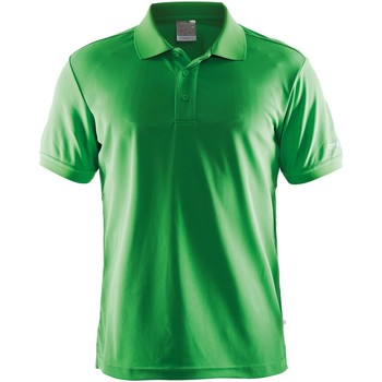 Textiel Heren Polo's korte mouwen Craft Pique Groen