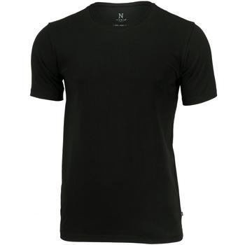 Textiel Heren T-shirts korte mouwen Nimbus Montauk Zwart