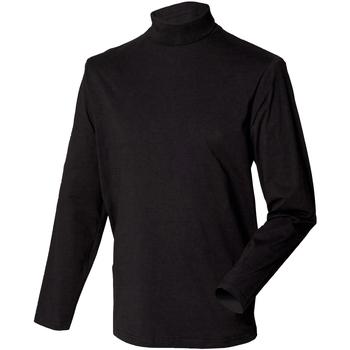 Textiel Heren Truien Henbury HB020 Zwart