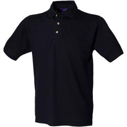Textiel Heren Polo's korte mouwen Henbury HB100 Marine