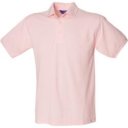 Textiel Heren Polo's korte mouwen Henbury HB400 Roze