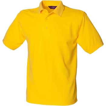 Textiel Heren Polo's korte mouwen Henbury HB400 Geel