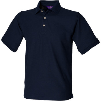 Textiel Heren Polo's korte mouwen Henbury Ultimate Marine