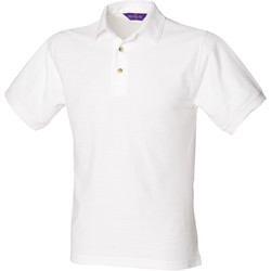 Textiel Heren Polo's korte mouwen Henbury Ultimate Wit