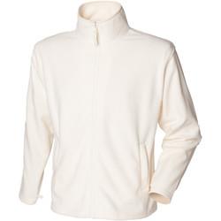 Textiel Heren Fleece Henbury  Crème
