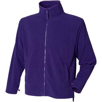 Textiel Heren Fleece Henbury  Paars