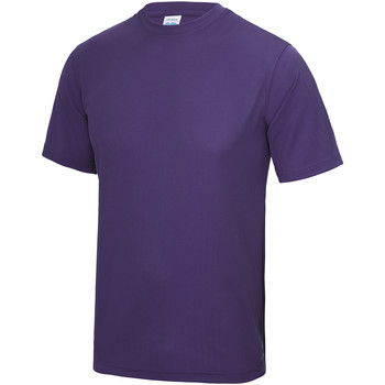 Textiel Heren T-shirts korte mouwen Awdis Performance Paars