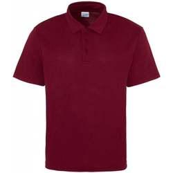 Textiel Heren Polo's korte mouwen Just Cool JC040 Bourgondië