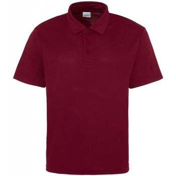 Textiel Heren Polo's korte mouwen Awdis JC040 Bourgondië