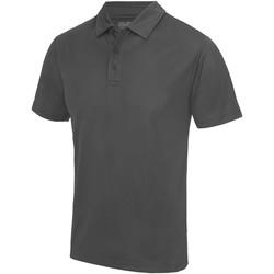 Textiel Heren Polo's korte mouwen Awdis JC040 Houtskool